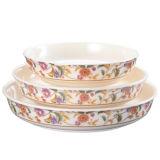 """Dinnerware- van de Melamine van 100% de """"onzichtbare """" Diepe Plaat van de Reeks (WT1085)"""