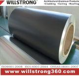 Bobine en aluminium de couleur d'enduit de PVDF pour la décoration de construction