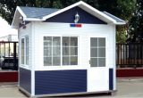Completamente Finished Portable Guard House per Police (PC032904)