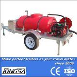Reboque fácil do tanque de água do funcionamento com certificação do CE