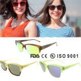 Occhiali da sole italiani del Ce di disegno degli occhiali da sole della Cina di alta qualità degli occhiali da sole su ordinazione di modo