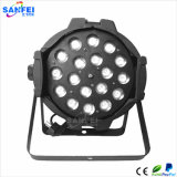 LED 18PCS*10W RGBW 4 in 1 indicatore luminoso di PARITÀ dello zoom