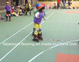 ホッケーのリンク(ホッケーチャンピオンの専門家)のための多彩なインラインスケートで滑るフロアーリング