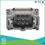 мужчина & женщина вставки разъема стандарта 6pin+PE 500V/16A ультра сверхмощный