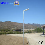 30W LED integrado 60W Solar Panel Solar Farola