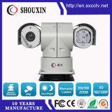 câmera do IP do CCTV do zoom 100m HD IR PTZ de 2.0MP 20X