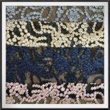 幾何学的な網の刺繍のレースのテュルの刺繍のレースの点の刺繍のレース