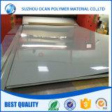 Panneau en PVC gris en PVC haute densité