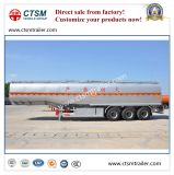 半45cbm液体の石油貯蔵のステンレス鋼タンクトレーラー