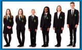 Uniforme scolastico primario internazionale alla rinfusa del nuovo prodotto per i bambini