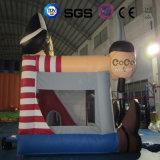 Bouncer gonfiabile del pirata di disegno di Cocowater per i capretti LG9041