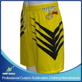 Custom Sublimation Team Shorts del ragazzo per Outdoor Sports