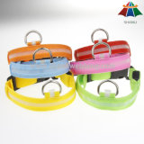 Collare di cane registrabile solido di alta qualità di colore 15mm di Caldo-Vendita con l'indicatore luminoso del LED