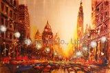 Pittura a olio domestica della riproduzione di arte della decorazione