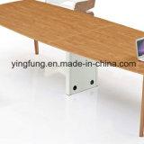 Da mesa moderna da mobília de escritório do MDF tabela de madeira do escritório executivo