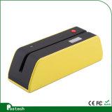 Hico lector de tarjetas de magia Wirh Bluetooth e interfaz USB funciona con computadoras y móviles / tableta Msrx6 (BT)