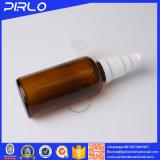 Bottiglia cosmetica del siero dell'olio essenziale di vetro del campione libero con il coperchio a vite