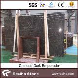 Lajes escuras de pedra naturais de mármore de Emperador para a parede e o assoalho