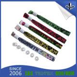 Wristband su ordinazione variopinto molle e popolare del raso per il commercio all'ingrosso
