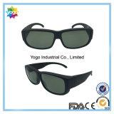 Sports faits sur commande promotionnels de type neuf ajustés au-dessus des lunettes de soleil en verre