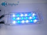 Éclairage LED utilisé en gros d'aquarium de poissons du récif coralien 18*3W