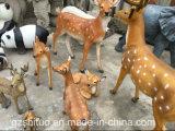 La sculpture est faite par une sculpture de la sculpture de la sculpture de la sculpture du cerf