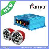 Resistere al sistema di alluminio della sirena dell'allarme delle coperture di scossa per la deviazione standard FM MP3 del USB dei pezzi di ricambio del motociclo