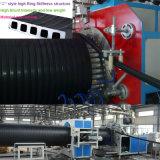 HDPEの螺線形の排水の波形の管の放出ライン
