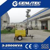 Kubota 디젤 엔진 발전기 이동할 수 있는 등대 (GLT4000-9M)
