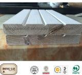 Изготовленный на заказ водоустойчивым склеенная краем внешняя напольная деревянная панель стены