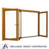 Cer-Bescheinigungs-Größe kundenspezifisches Aluminiumbi-Falten-Fenster