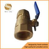 Válvula de esfera de bronze forjada para a venda