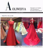 Красное платье вечера для Wedding с шнурком