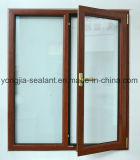 Qualité supérieure double Windows coulissant glacé en aluminium des meilleurs prix