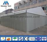 鋼鉄壁シャッタードアが付いている屋外フレームの保管倉庫のテント