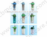 Umidificatori riutilizzabili dell'ossigeno per i regolatori dell'ossigeno