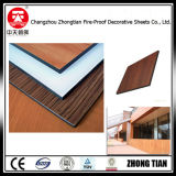 El panel de madera exterior del laminado de la resina fenólica de la fachada de Dudrable