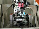 Hoge snelheid 5 As 3 Hoofden CNC Boren en Doornaaiende Borstel Machine maken/Bezem die Machine maken (2 en 1 die doornaaien boren)