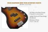Aiersi полностью твердая супер гитара 4-String Pj (точности/джаза) электрическая басовая с сертификатом BV/SGS