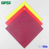 다이아몬드 패턴 사각 모양 미끄럼 방지 실리콘 매트 Placemat Potholder