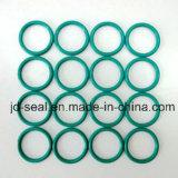 EPDM, FKM, caoutchouc silicone, jaune, vert, brun, anneaux noir
