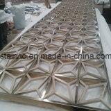 Diviseur de pièce matériel de coupure de laser d'acier inoxydable de Buliding