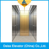 Vvvf小型機械部屋の反対のドアが付いている住宅の乗客のホームエレベーター