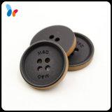 Штейновая черная кнопка смолаы для костюмов людей
