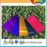 Enduit pourpré personnalisé de poudre de couleur de sucrerie lustrée bon marché élevée d'usine