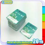 carte classique de Keytag d'adhésion de fidélité de PVC 1K de 13.56MHz MIFARE