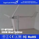 sistema das energias eólicas do gerador de turbina 300W