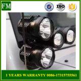 LEDのスポットライト40W柱のジープのラングラーで合う補助作業ライト