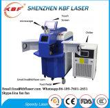 Máquina ereta do soldador do laser da jóia da vibração de cobre de Siliver do ouro