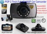 """Heißes u. preiswertes Auto DVR mit der 2.7 """" TFT Bildschirmanzeige, Kamera des Auto-1.3mega, Winkel der Ansicht-120degree, Flugschreiber des Auto-1920*1080P, 6 IR LED für Nachtsicht, Auto DVR-2710"""
